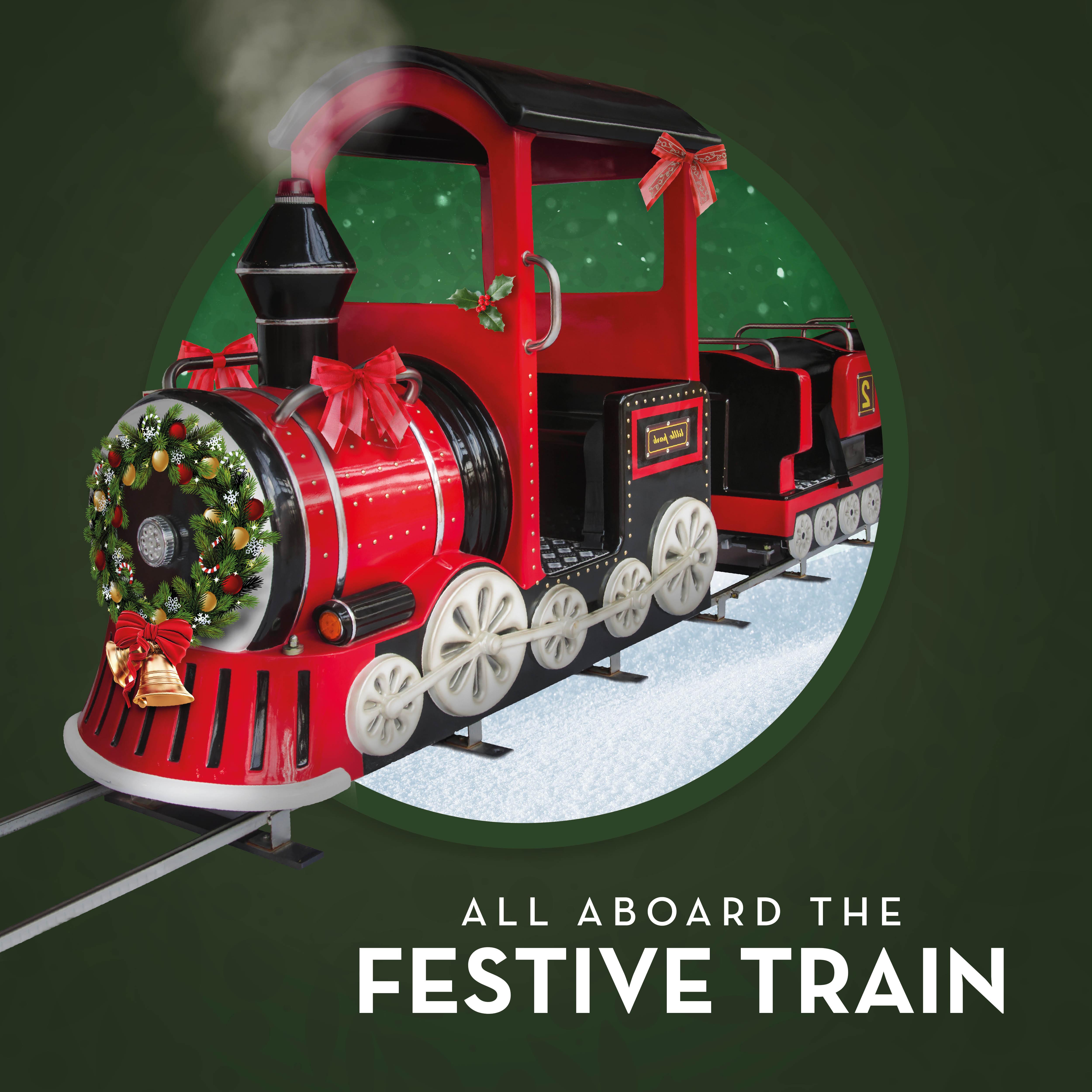 SkyCourt Festive Train