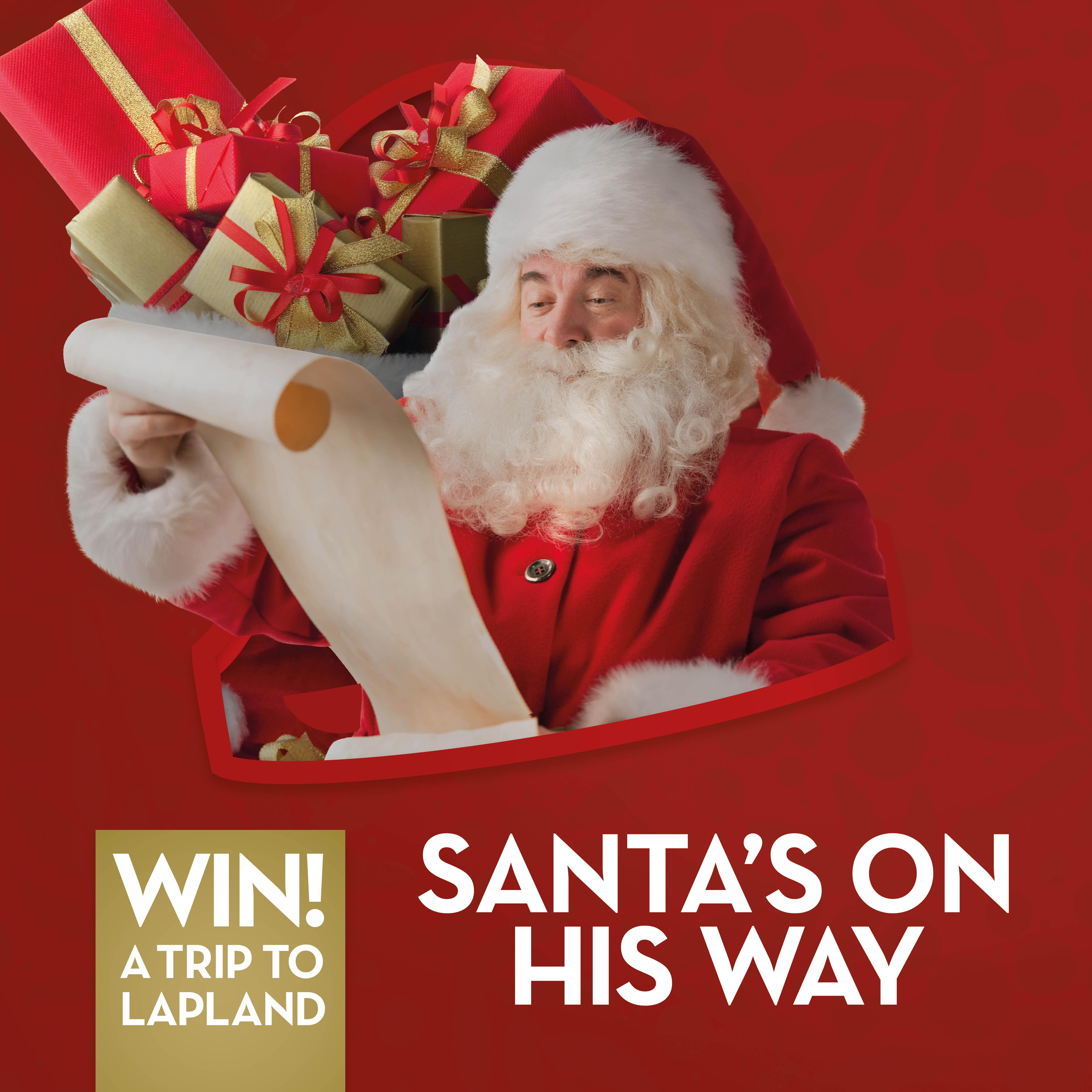 Santa's on his way to SkyCourt